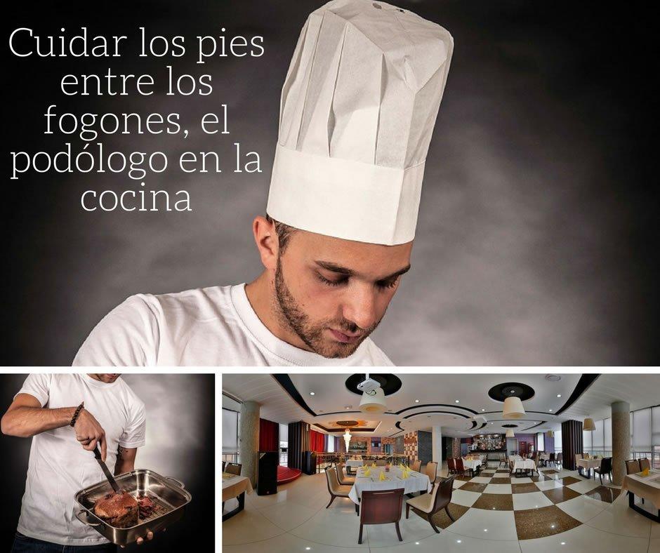 Podología para cocineros y personal de sala.
